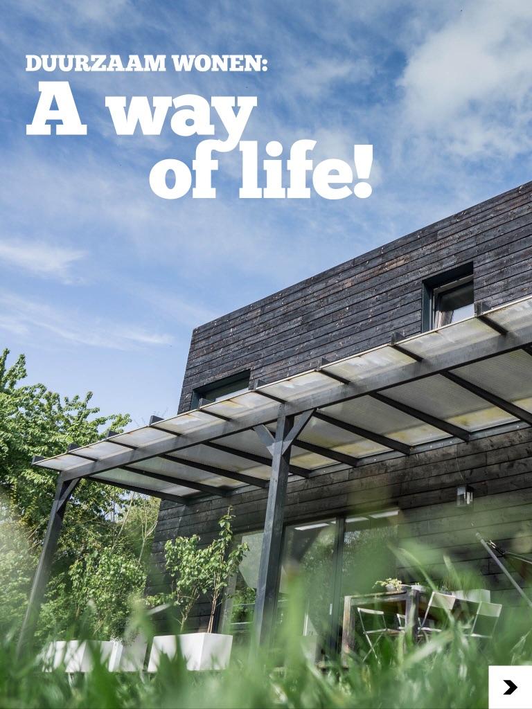 STEK Magazine: Duurzaam wonen, a way of life!